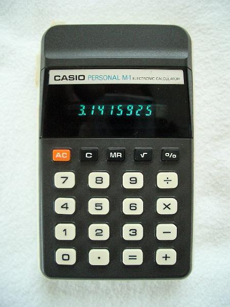 Taschenrechner casio casio personal m1 casio personal m1 for Esstisch 1 20 m
